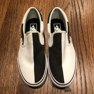 Vans Mega Checker Slip on mens 7, Womens 8.5 NEW